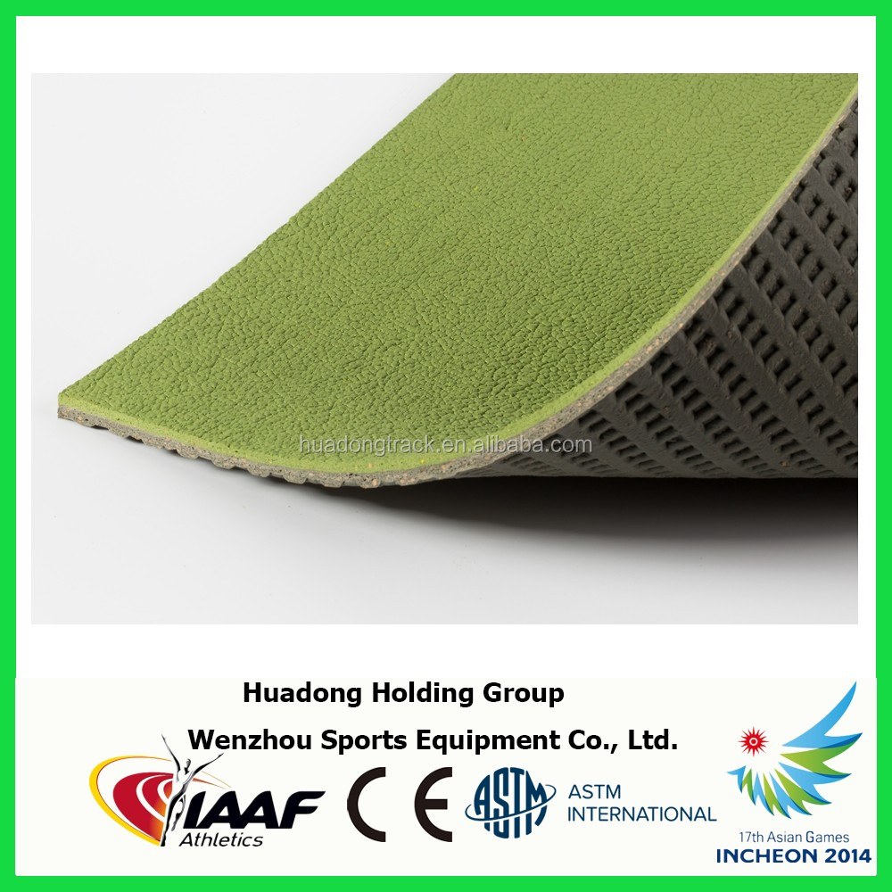 Synthetic volleyball court flooring, rubber flooring, rubber mat