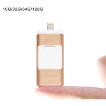 3 in 1 OTG USB Flash Drive Memory Expansion , OTG U Disk for iPhone, for iPad Android Cellphones & Computers pendrive