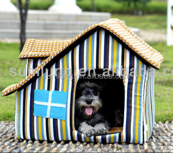 High Quality Doghouse, Sloping Roof House for Pet 1/3
