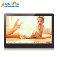 14 lcd six vedio media video advertising full hd ad player
