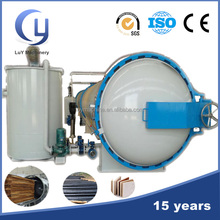 Automatic control pressure creosote vaccum heat wood treatment equipment