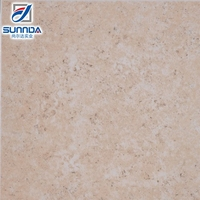 2016 popular cheapest beige color rough surface ceramic tile for flooring in Foshan