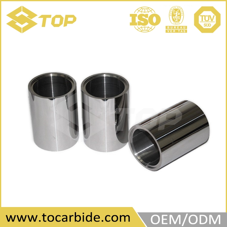 Tungsten carbide axle sleeve for oil field