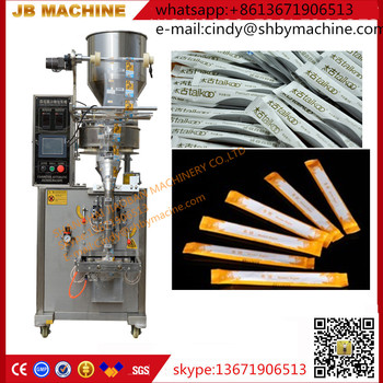 JB-150K sugar stick packing machine,automatic sugar pillow seal packing machine
