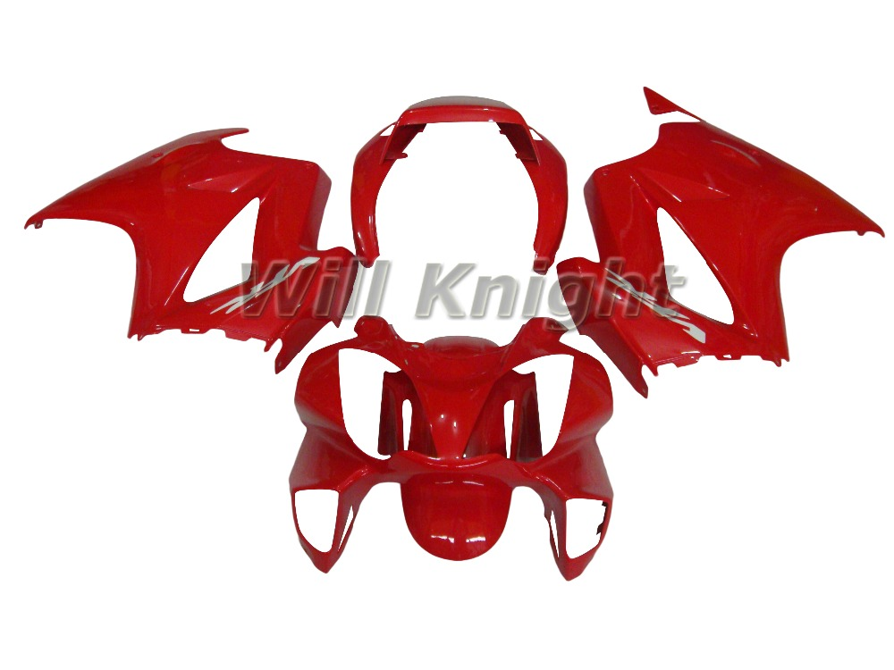 Red Injection Mold Bodywork Fairing Kit for Honda VFR800 2002 - 2011