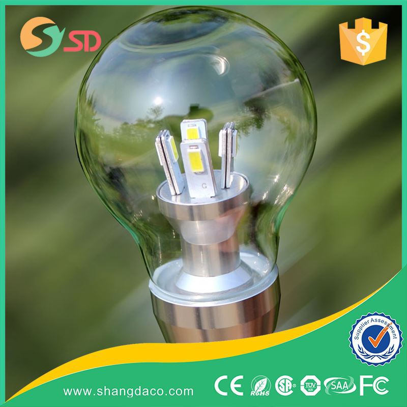 High Quality Globe Light 7W Lamp E27 LED Bulb SMD Led 18W Sensor Led Bulb E27 Day Night Light