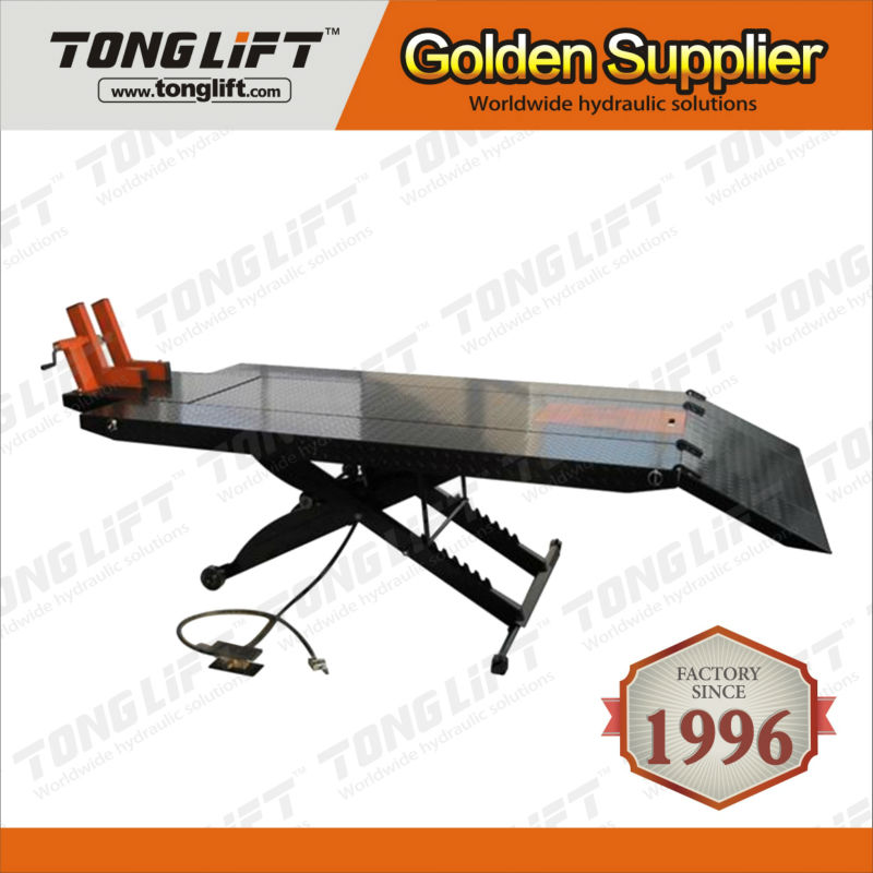 Hot Selling Good Quality 1000Lbs Hydraulic Motorcycle Lifter