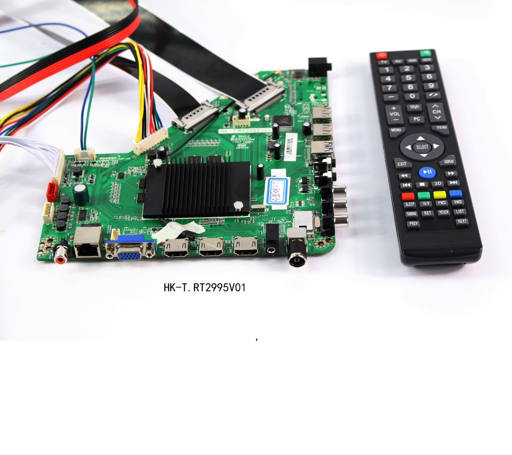 Universal lcd tv 4k controller board with Advance dual Core CPU and four Core GPU