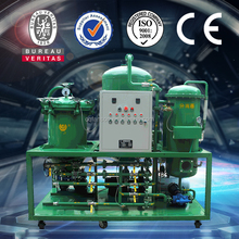 Protable waste lubricant oil purification systems