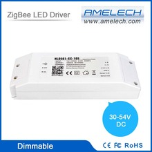Powerful ZigBee Dimmable 30-54W 0-10V LED Dimmer HS Code 36V Power Supply