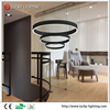 Simple and Stylish Design Three Rings Pendant Lamps Decorative LED Pendant Light