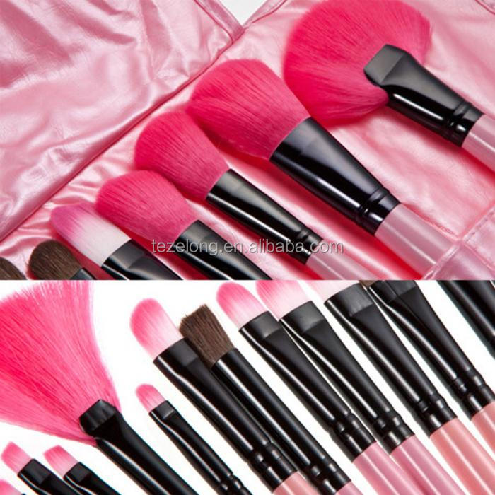 Hot sale 24pcs Professional Makeup Brushes Set High Quality Make Up Brushes Full Function Studio Synthetic Make-up Tool