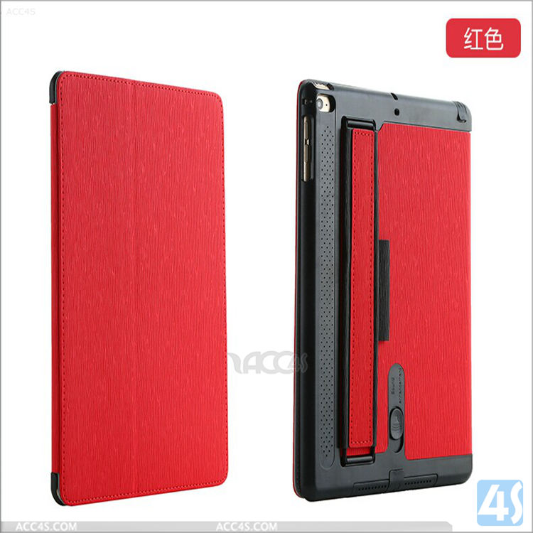 New arrival top seller good quality factory price with card slots design leather flip case for ipad air 2