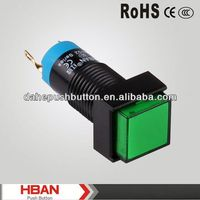 CE ROHS double pole single throw push button switch