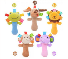 high quality sound rattle stuffed baby and kid toys lion king toys plush animal lion toys lion plush baby rattle