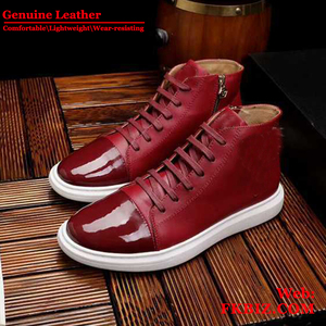 3aea60a55 Wholesale top quality Mens PP Shoes Fashion Platform shoes genuine leather  branded famous luxury dress Skull