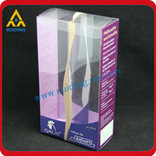 custom high quality Plastic flocked blister tray for cosmetics bottle