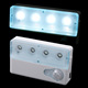 Portable LED Infrared PIR Auto Sensor Motion Detector Light Lamp with Dual-window Infrared Sensors