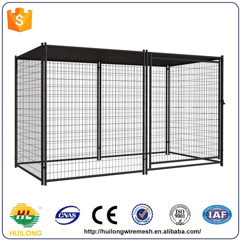 Alibaba dog kennels two doors large animal cage with high quality