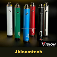 vision spinner 2 China wholesale e cigarette pen vision spinner ii 1600mah top vapor pen