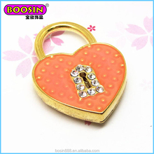 Promotion price orange love Lockpent, pretty custom love knot pendant