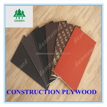 Best price 18mm film faced phenolic plywood,plywood sheet for construction