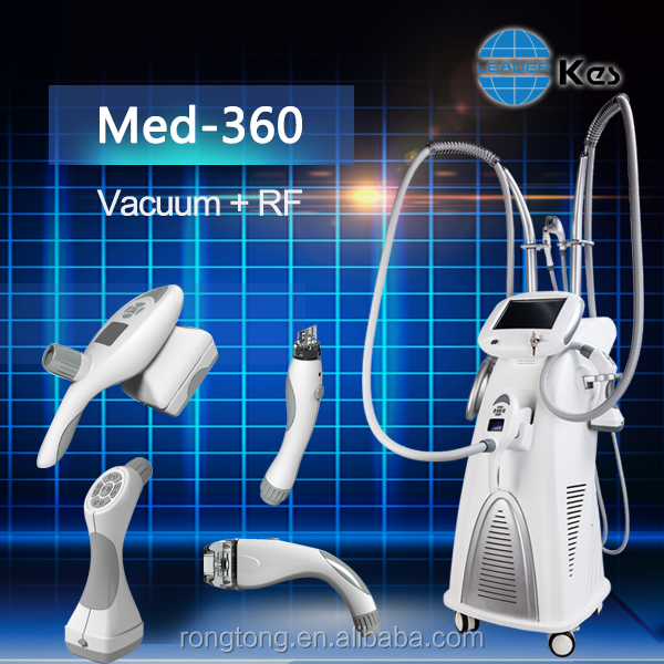 2016 kes new technology vacuum+RF Humanoid hand massage ,body slimming machine