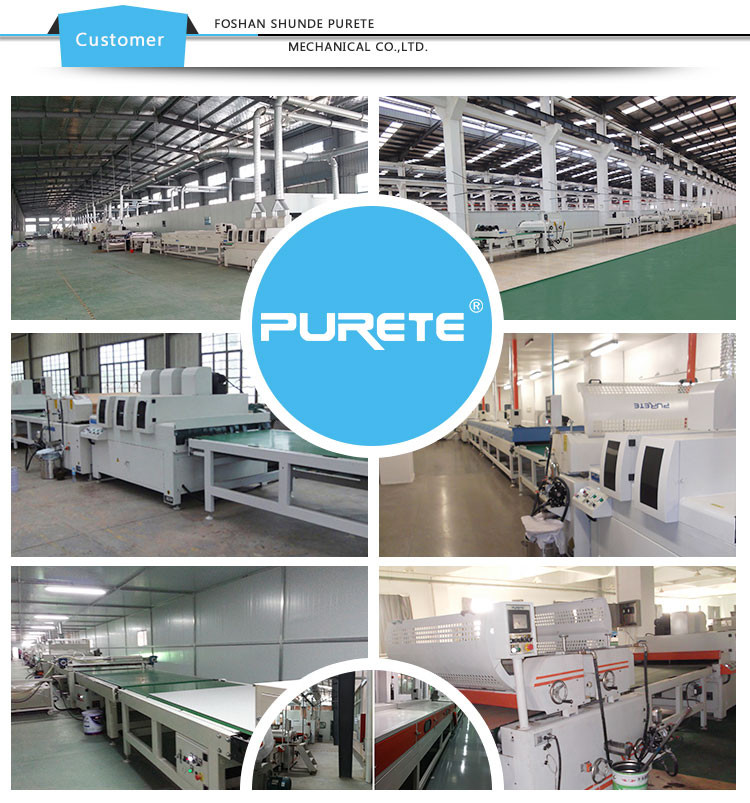 UV Wood floor board/Particle board Lacquering Coating Machine From China