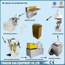 10-20L Paint Coating Lubricant Engine Oil Tin Can Making Line Machinery Equipment