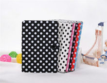 Various Color Polka Dot Wallet Case for iPad Mini
