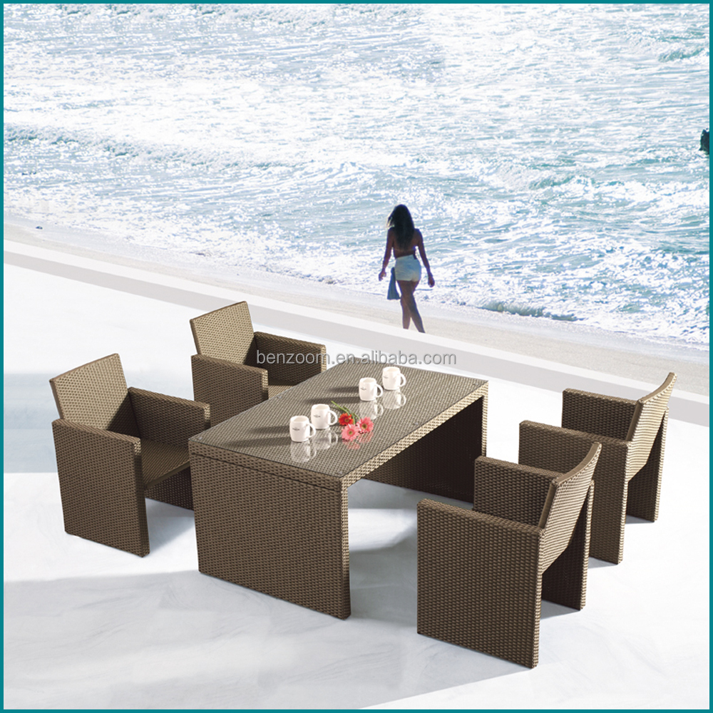 Outdoor wholesale used rattan sofa wicker furniture for sale JJ-127TC