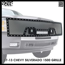 Super Duty 304 Steel Custom Made Wire Mesh 07-13 Chevy Silverado Grill