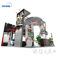 Detian Offer custom trade fair stand exhibition booth from Shanghai China