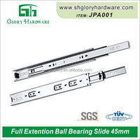Discount professional 45mm ball bearing groove drawer slide