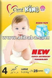 cura King Baby & Adult Diapers