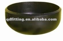 DIN2615 black steel seamless pipes alloy cap sch40