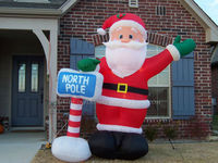Christmas inflatable, inflatable christmas decoration