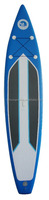 new style surfboard type inflatable stand up paddle board