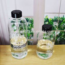 YXJ006 Zhejiang manufacturer outdoor sports pongdang mineral water bottle fruit juice bottle transparent clear plastic water