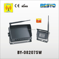 wireless truck/bus reversing camera system,digital monitor with digital camera system BY-08207SW