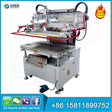 Fully automatic cylinder metal plate pcb fabric textile glass digital flat bed silk screen printing machine computer
