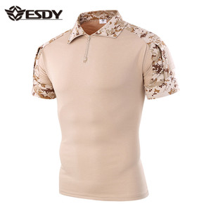 ESDY 10-Colors camo outdoor military shirt tactical frog T-shirt