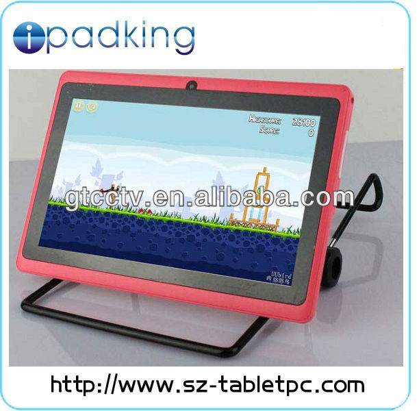 mini tablet pc MID laptop Android 4.0 Boxchip A13 Tablet 0.3MP Front Camera Q88