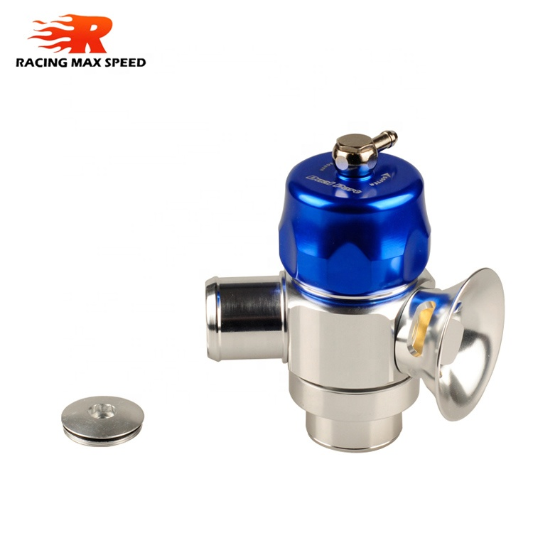 Turbosmart Universal 32mm Dual Port blow off valve adapter BLUE - TS-0205-1061