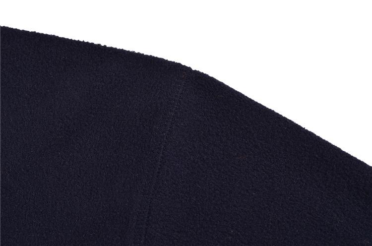 Professional wholesale plain black mens fleece sweatshirt,customize plain Zipper sweatshirt ,100% polyester sweatshirt manufactu