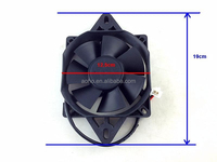 Oil Cooler Water Cooler Radiator Electric Fan Fit for Dirt Bike Motorcycle ATV Quad