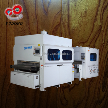 High efficiency electric sanding machine for rustic wood