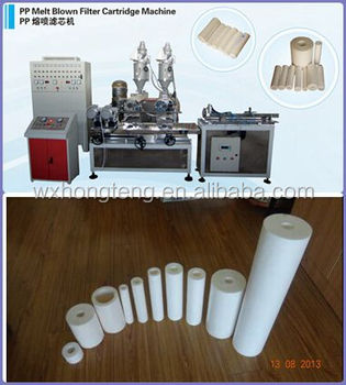 Good quality pp resin bonded water filter cartridge machine with efficient and easy service