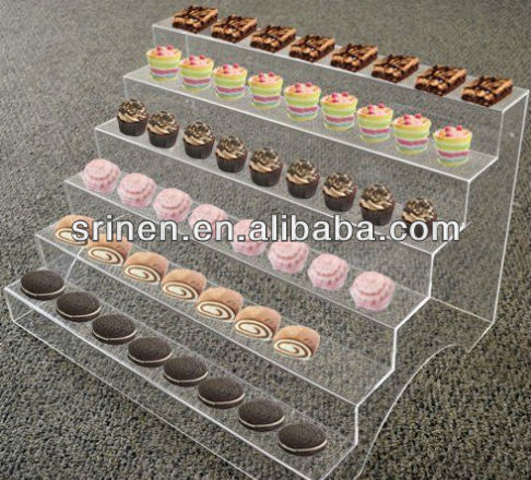 Custom Made 6 Tier Acrylic Dessert Cup Display Stand