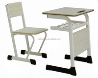 primary grades metal study table and chair